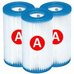Intex-filtre-à-cartouche-type-A-–-3-pièces