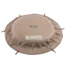 Bâche-Intex-PureSpa-beige---spa-4pers
