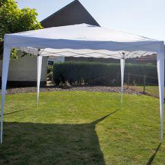 Easy-up-chapiteau-3x3m-PE-250-gr/m2-blanc