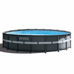 Kit Piscine Intex™ Ultra XTR Frame Ø 5.49 x 1.32m (Incl. filtre à sable)