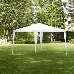 Chapiteau-3x3m-PE-160-gr/m2-blanc