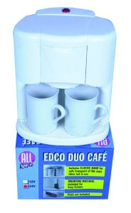 Machine à café 24 volts avec 2 tasses