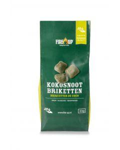 Briquettes de coco sac 3 kg