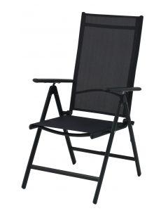 Chaise de jardin Master réglable aluminium