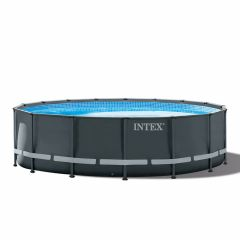 Kit Piscine Intex™ Ultra XTR Frame Ø 4.88 x 1.22m (Incl. filtre à sable)