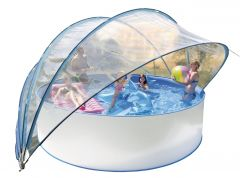 Tente solaire pour piscine