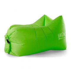 Pouf gonflable SeatZac vert