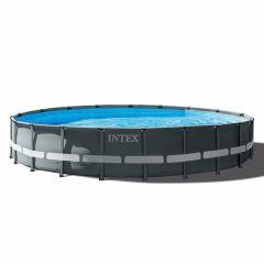 Kit-Piscine-Intex™-Ultra-XTR-Frame-Ø-6.10-x-1.22m-(Incl.-filtre-à-sable)