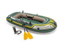 INTEX™-Canoë-gonflable---Kit-Seahawk-2-(incl.-pagaies-&-pompe)
