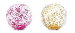 Ballon transparant avec paillettes INTEX™