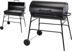 Barbecue-au-charbon-de-bois-forme-cylindre