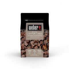 Blocs allume-feu Weber - 24 pièces bruns