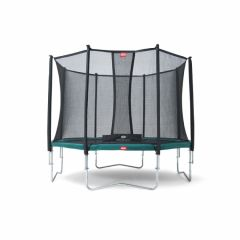 Trampoline-BERG-Favorit-380-+-Filet-de-Sécurité-Comfort
