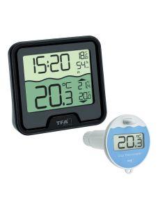 Thermomètre de piscine TFA Dostmann MARBELLA