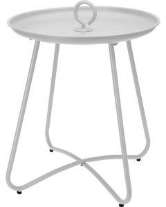 Table d'appoint extérieur gris