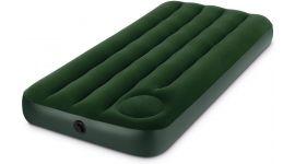 Matelas gonflable Intex Downy Cot Size avec pompe intégrée 1 place