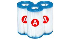 Intex filtre à cartouche type A – 3 pièces