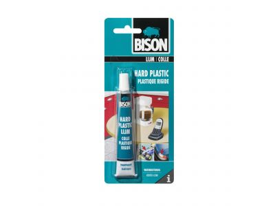 bison colle plastique rigide blister 25 ml bison 6305952. Black Bedroom Furniture Sets. Home Design Ideas