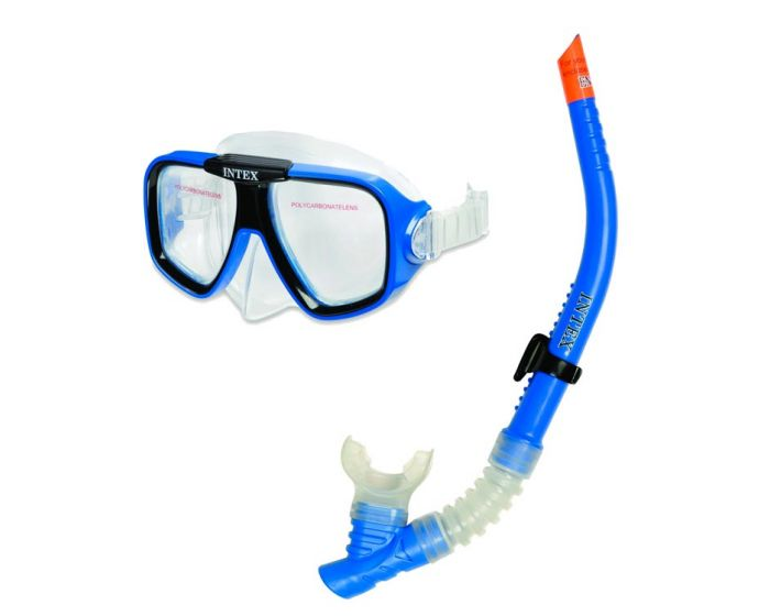 INTEX™ Kit masque et tuba - Reef Rider