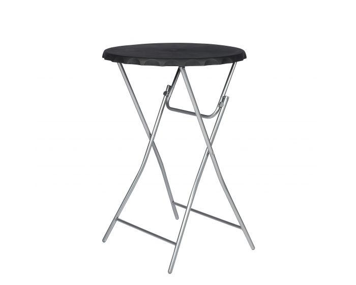 Table haute plibale noir