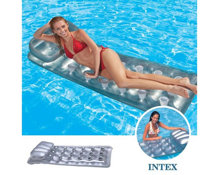 INTEX™ 18-Pocket Suntanner Lounge