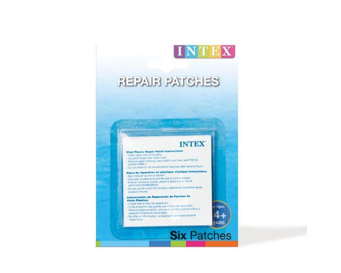 Intex kit de réparation - se compose de 6 rustines