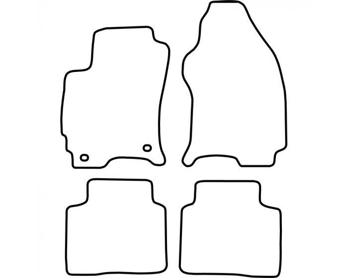 Set de tapis de sol Ford Mondeo 2000-2007