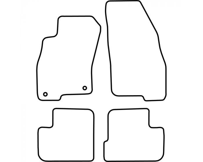 Set de tapis de sol Fiat Grande Punto 2005-2011