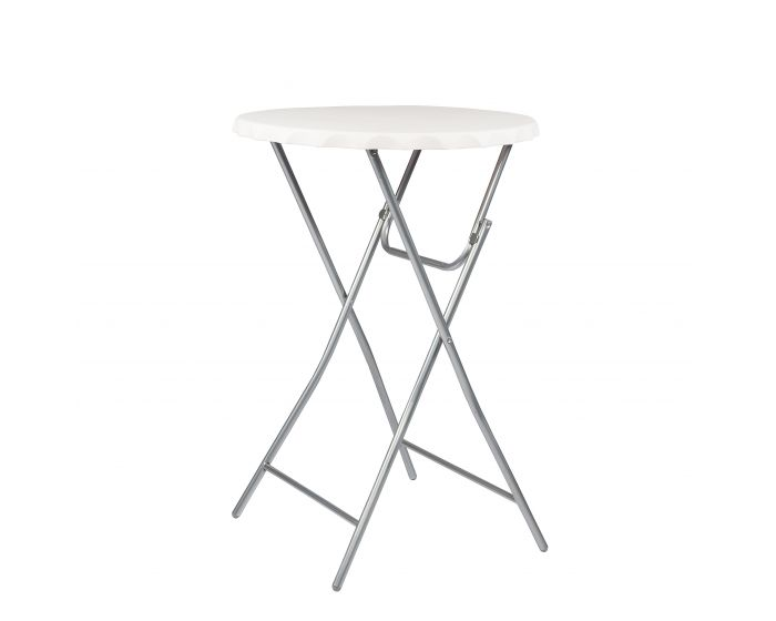 table haute pliable blanche. Black Bedroom Furniture Sets. Home Design Ideas