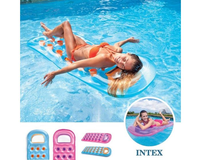INTEX™ 18 poches Suntanner Lounge