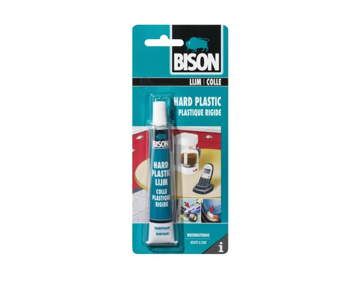 Bison colle plastique rigide - Blister 25 ML