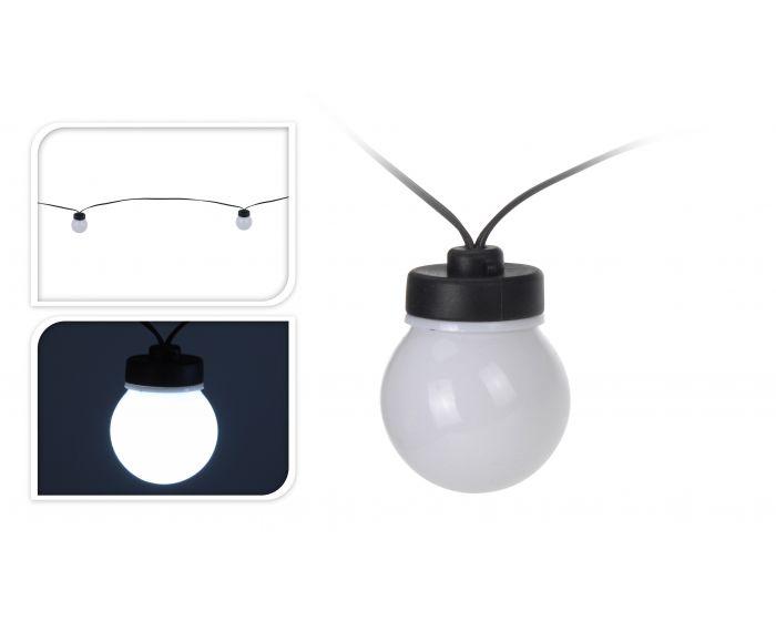 Éclairage de fête 10 lampes blanc