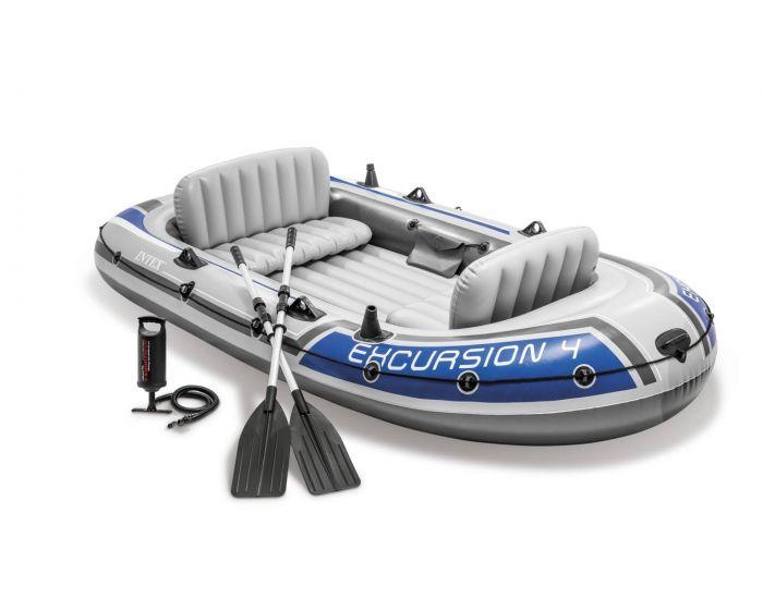 Intex bateau gonflable - Excursion 4 Set