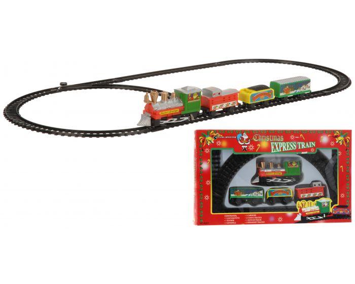 Train de Noël 9 pièces