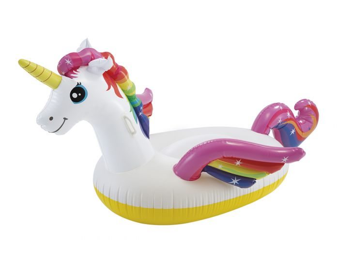 Matelas gonflable INTEX™ licorne ride-on