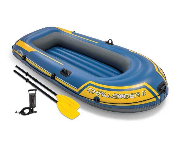 Intex bateau gonflable - Challenger 2 Set