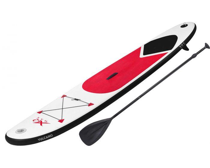 Planche de stand up paddle gonflable avec accessoires rouge XQmax