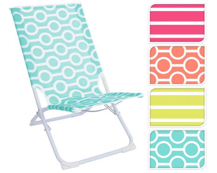Chaise de plage pliante