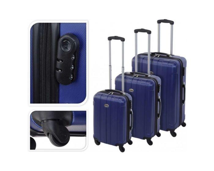 Valise bleue - 97 litres