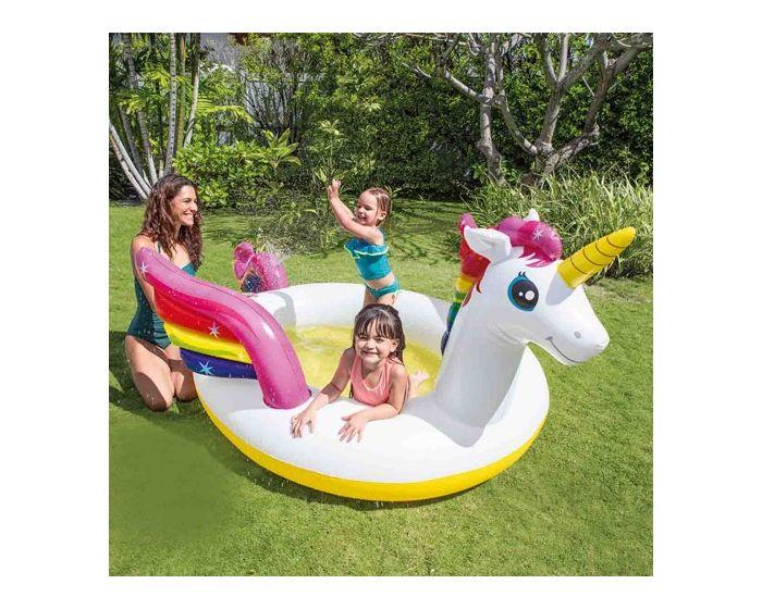 Piscine licorne à jets pour enfants INTEX™
