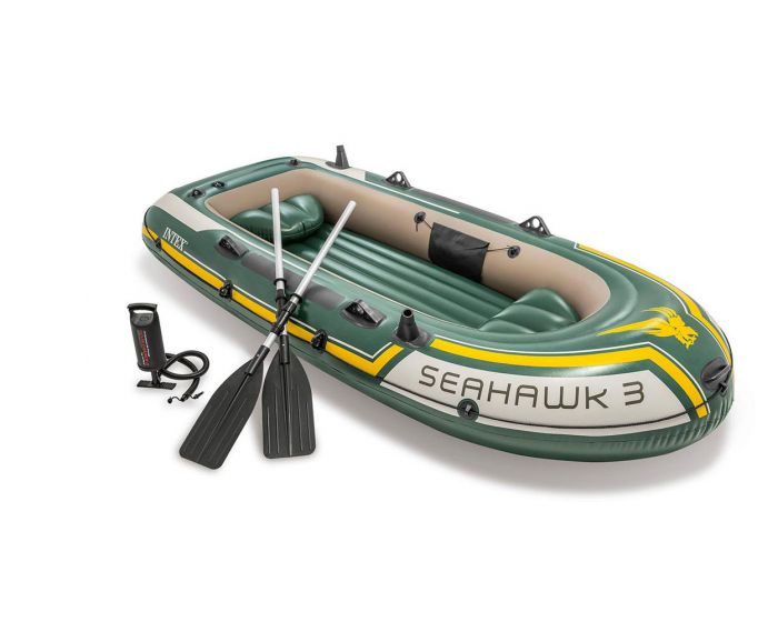 Intex bateau gonflable - Seahawk 3 Set