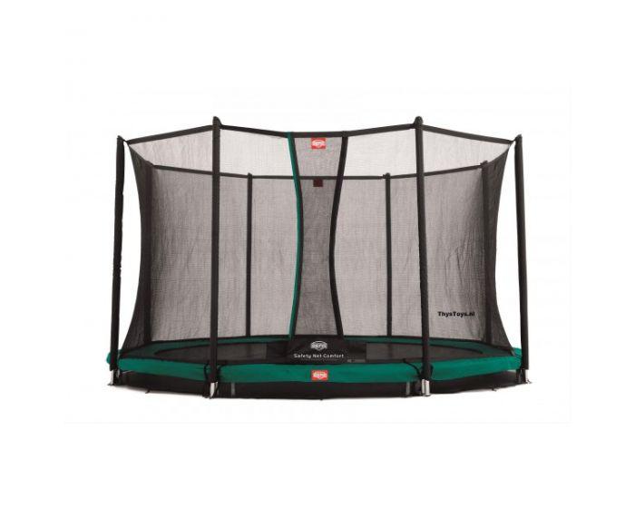 Trampoline BERG Favorit Inground 380 + Filet de sécurité Comfort