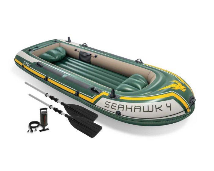 Intex bateau gonflable - Seahawk 4 Set