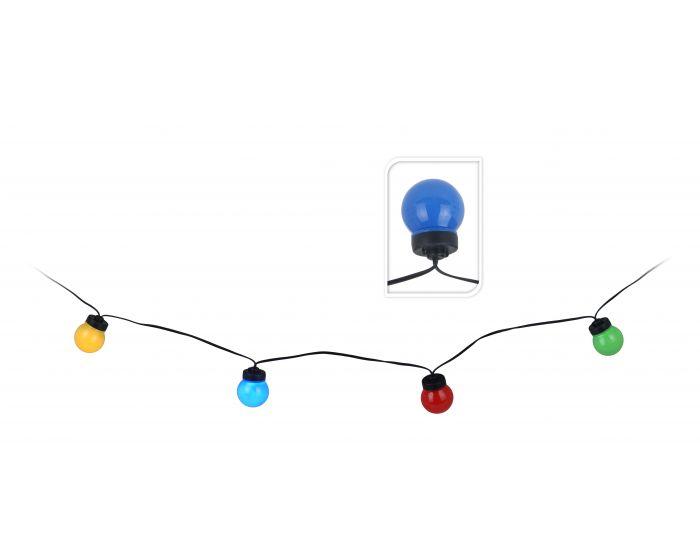 Éclairage de fête 10 lampes multicolore