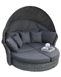 Ilot lounge et transat lounge Pure Garden & Living Elegant