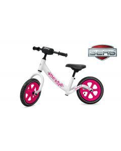 BERG Biky Vélo sans pédales Blanc / Rose