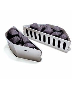 Paniers à charbon Weber Char-Basket (57 cm barbecue, ensemble 2 pièces)