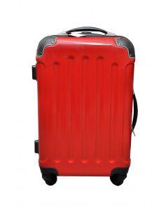 Valise rouge brillant 40 litres