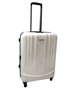 Valise 65 litres blanche