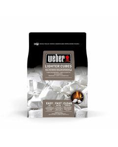 Blocs allume-feu Weber, 22 pièces, blancs